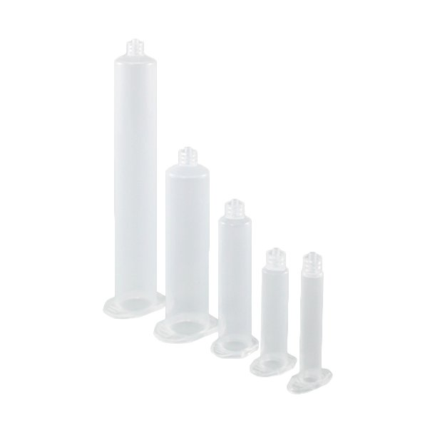 Syringe barrels, Clear