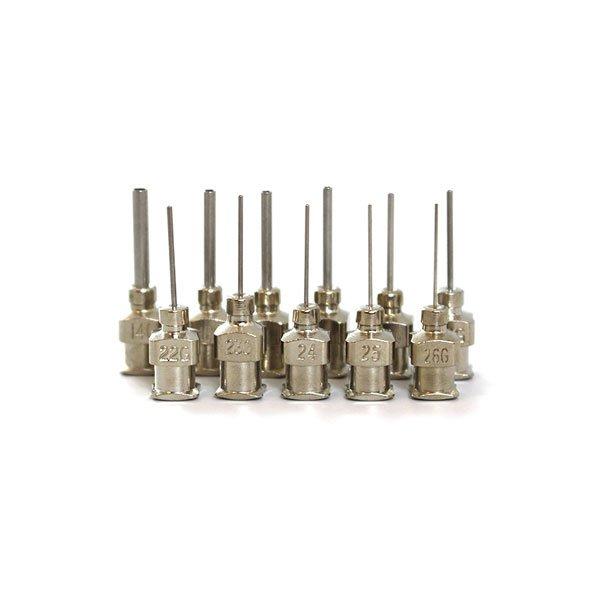 Stainless Steel Dispensing Tips, 12.7 mm (½
