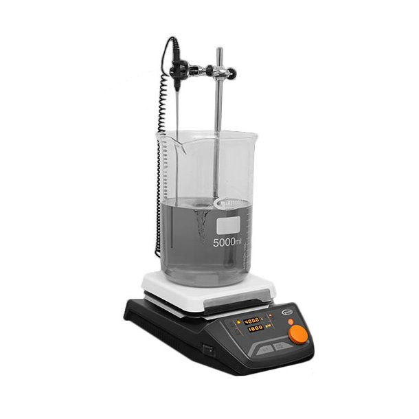 Glaskeramisk varmeplade med magnetomrører